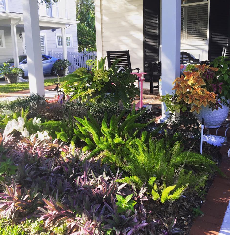 Landscape planting beds